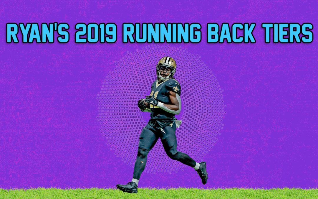 2019 Redraft Rankings: RB Tiers
