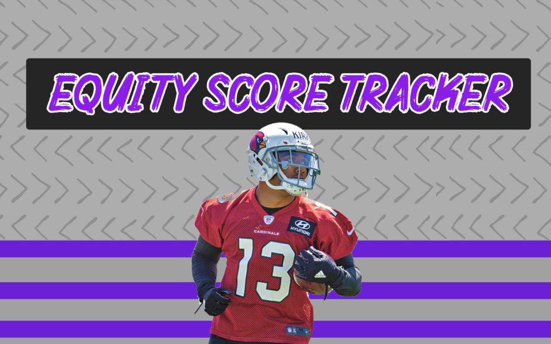 EQUITY SCORE TRACKER: Tyler Lockett, Christian Kirk, & Kenny Golladay.