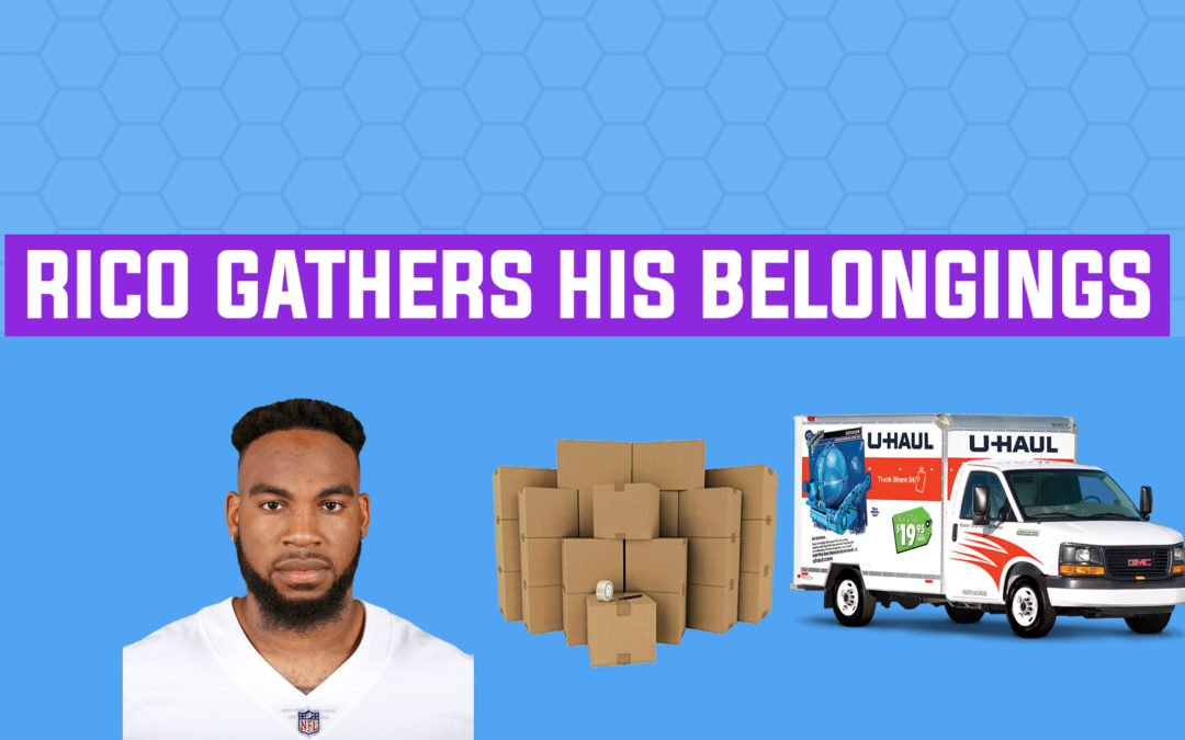 "BREAKOUT FINDER VIDEOCAST EP 014: ""Rico Gathers his belongings"""