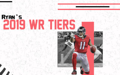 2019 Redraft Rankings: WR Tiers