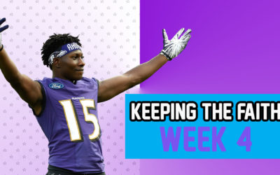 Keeping the Faith: Players That Shouldn't Be Dropped – Week 4