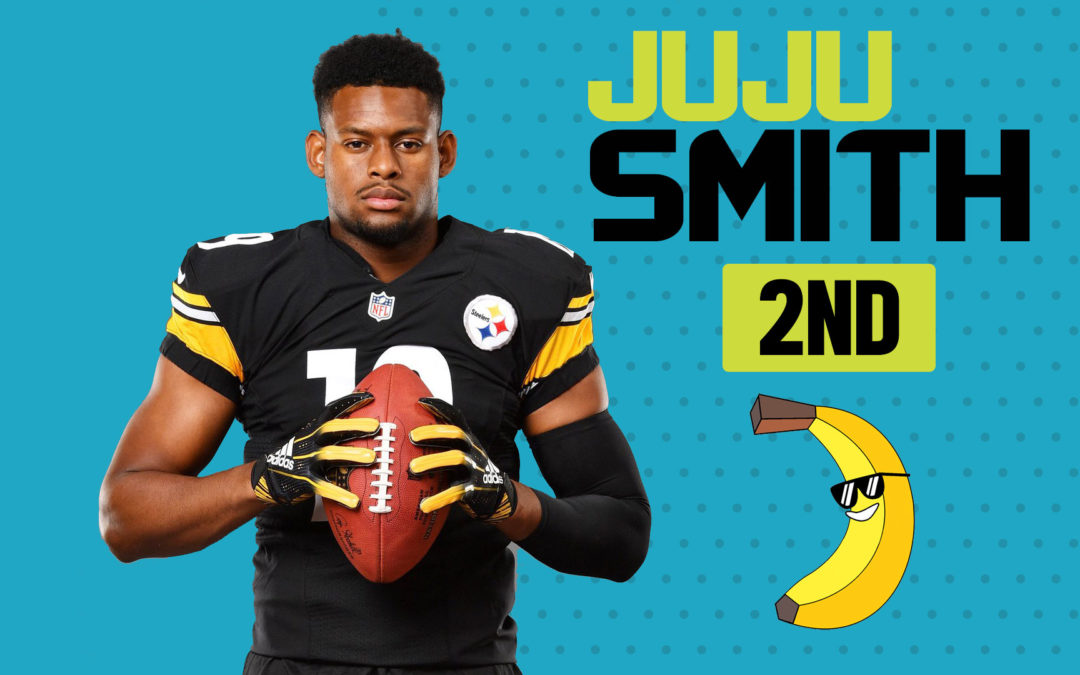 "BREAKOUT FINDER VIDEOCAST EP 022: ""juju smith-schuster second banana""."