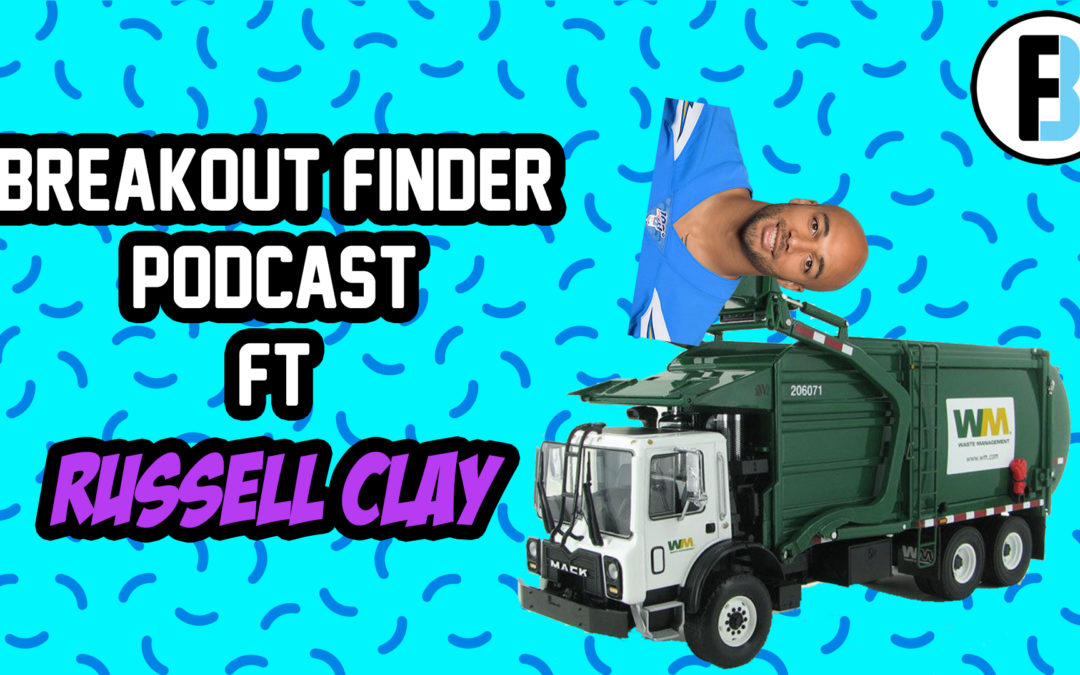 "BREAKOUT FINDER VIDEOCAST EP 023: ""O.J. howard, no way out"" – FT russell clay of fantasy guru"