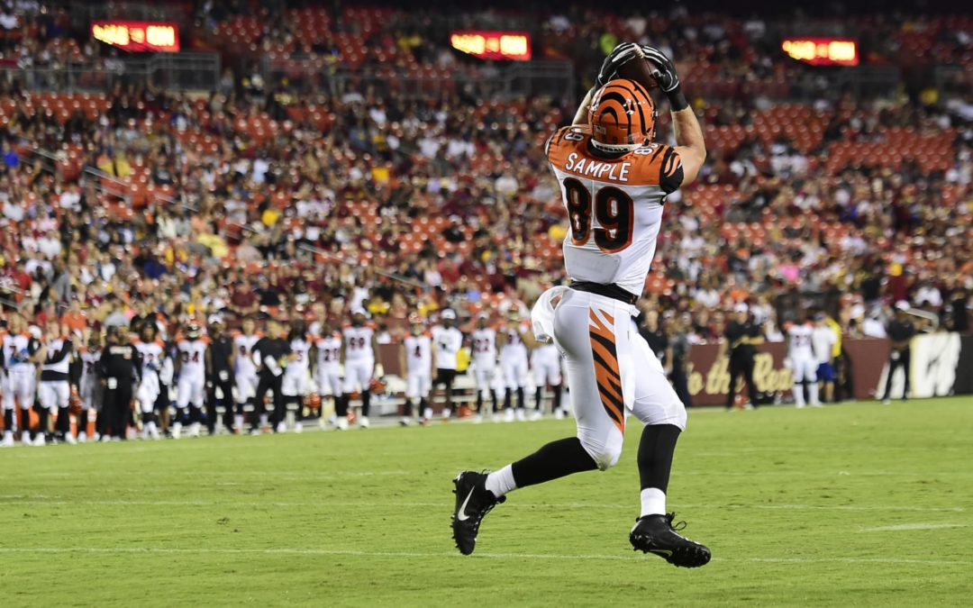 Next-up: Bengals' Tight End Drew Sample