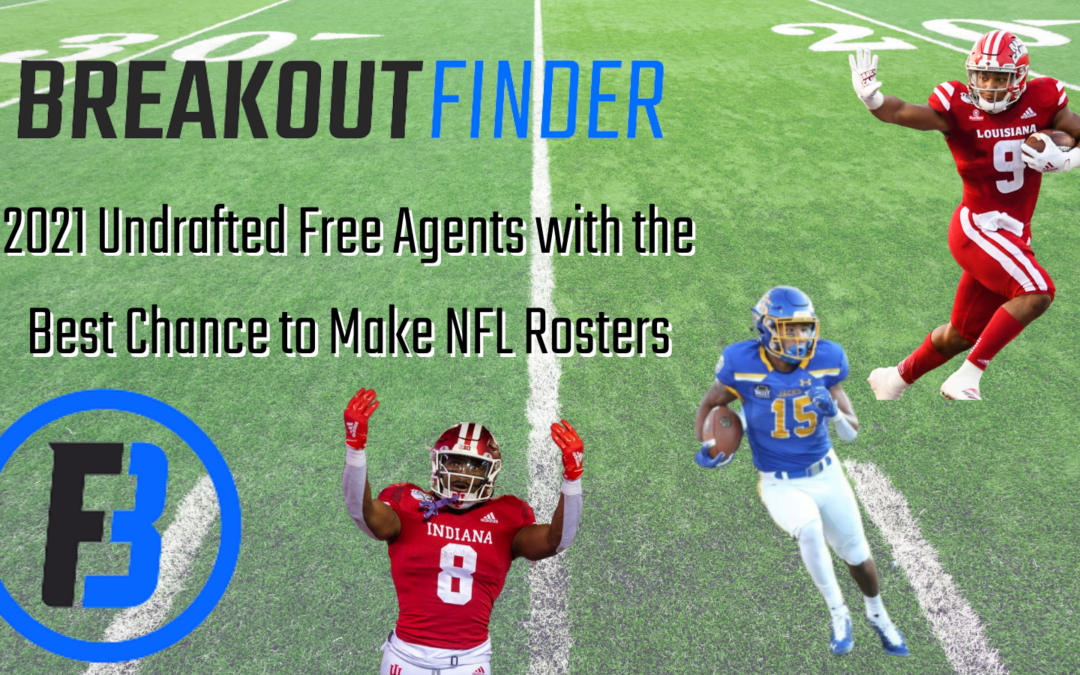 2021 Undrafted free agents With the best chance to make NFL rosters