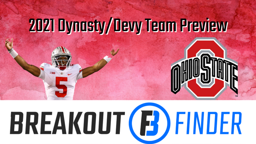 This is a series where we are going to spotlight some NCAA prospects from some of the big teams to highlight potential players to draft on your Dynasty Teams come Spring of 2022 and some guys to keep an eye on for your Devy teams or your Dynasty Teams a few years out from now. The first up: Ohio State Buckeyes.