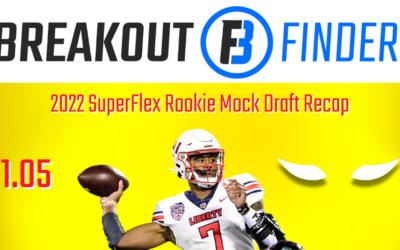 Rotounderworld 2022 superflex rookie mock draft